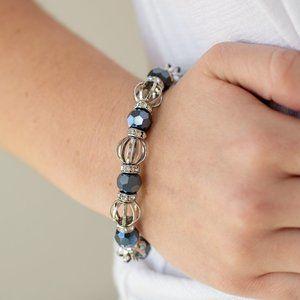 Metro Squad Blue Bracelet J-583